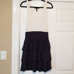 BCBG Ruffle Tank Dress